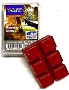 Better Homes & Gardens Scented Wax Cubes, 2019 Limited Edition (Swinging Hammock Breeze)