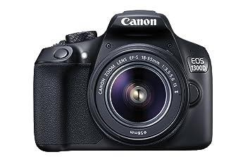 Canon EOS 1300d cámara con 18 - 55 mm Lente, 100EG Bolsa y ...