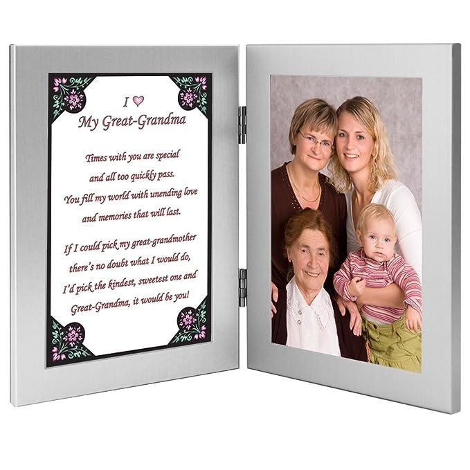 Amazon.com - Great Grandmother Gift From Grandchild - Great Grandma ...