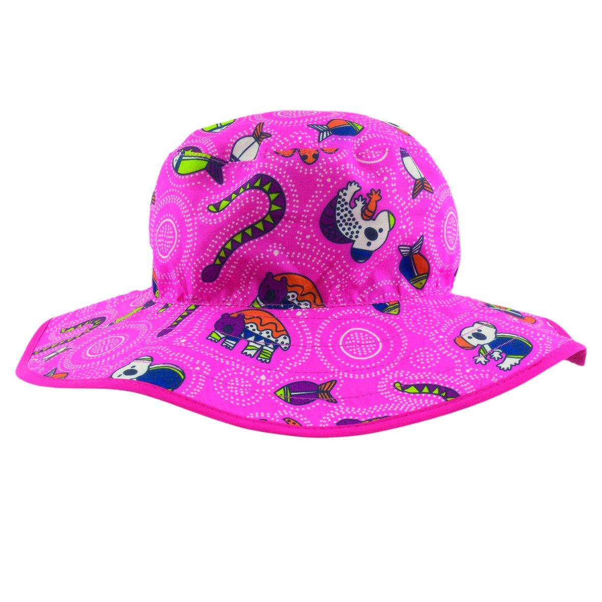 Banz KHRCGP 2015 Kids Reversible Hat, Coolgardie Pink Baby Banz 17442