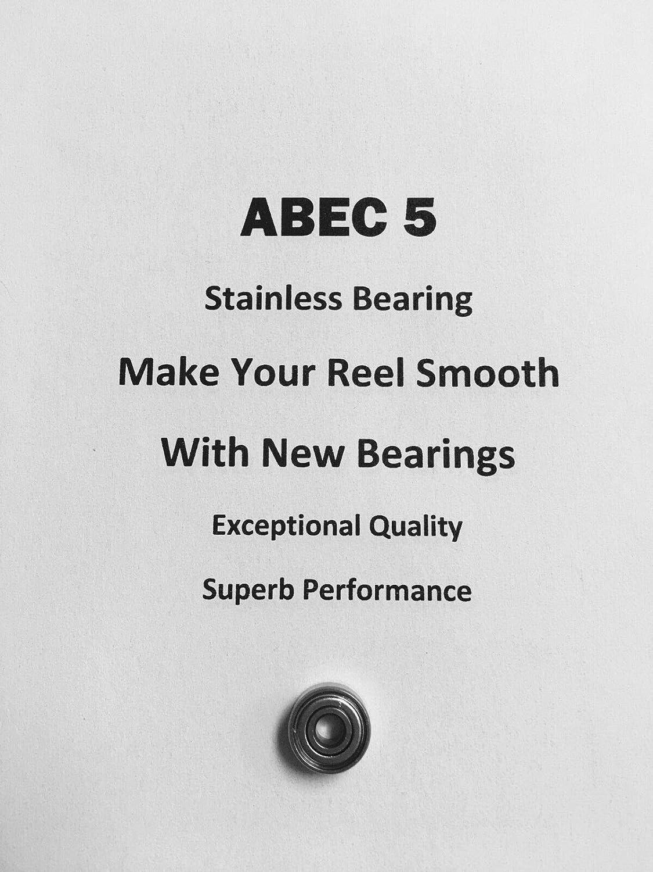 Penn Graphite GS 545 MAG 26-25 ABEC5 Stainless Bearing .125 x .375 x .156#18