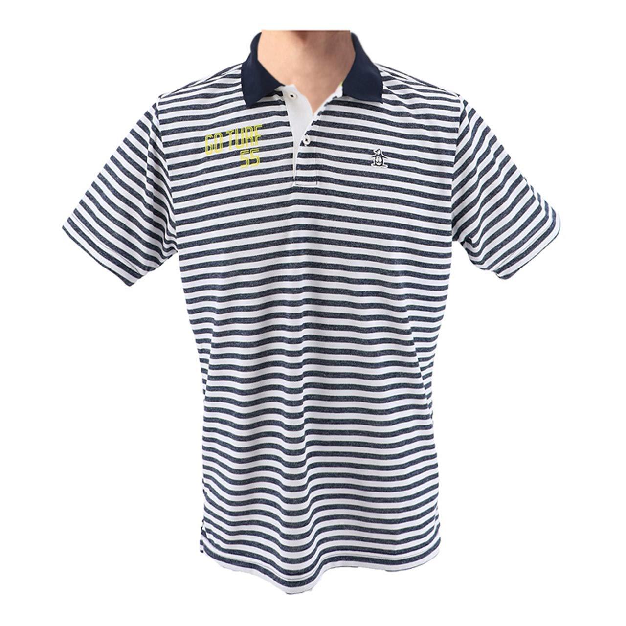 マンシングウェア(Munsingwear) 半袖シャツ MGMLJA26 LL ネイビー(NV00) B07K79MX17