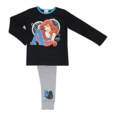 Disney The Little Mermaid Girls Pyjamas Multiple Design - Ocean Beauty 4-5 Years