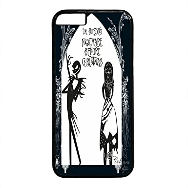 Customized Cute Cartoon Movie The Nightmare Before Christmas jack and sally Wallpaper PC Case Cover for