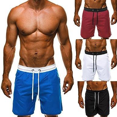 SamSoMon 2019 Pantalones Cortos para Hombre Bañador Estilo ...