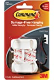 CLIP, LARGE CORD, ADHESIVE, PK2 17303 By 3M