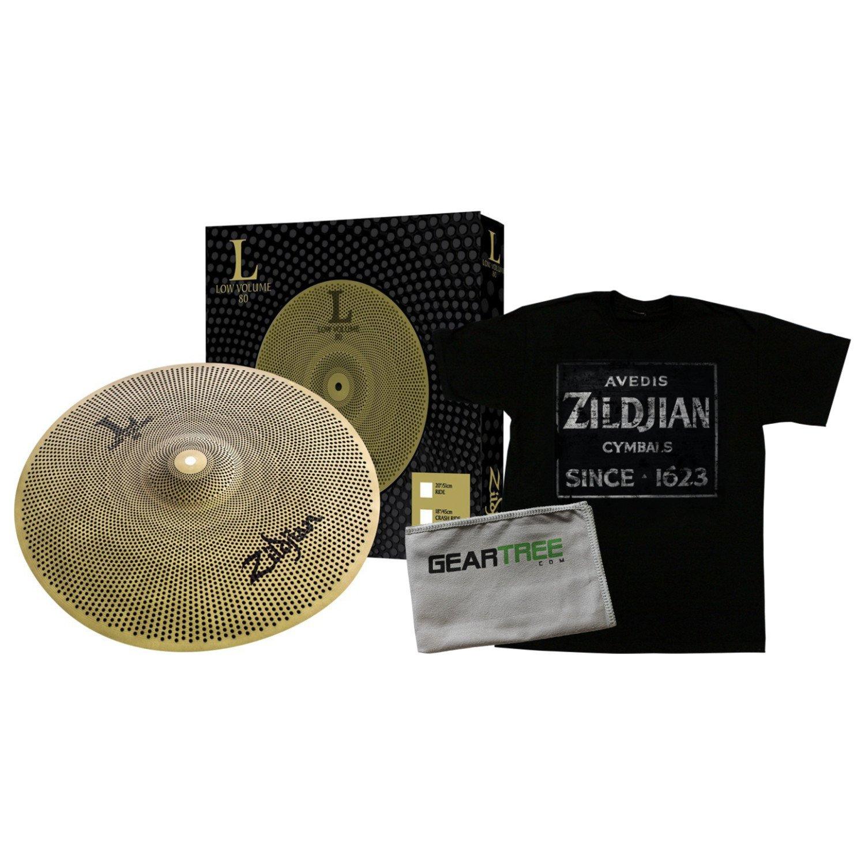 Zildjian L80 Low Volume 20 Inch Ride Cymbal w/Zildjian T4674 QUINCY VINTAGE SIG