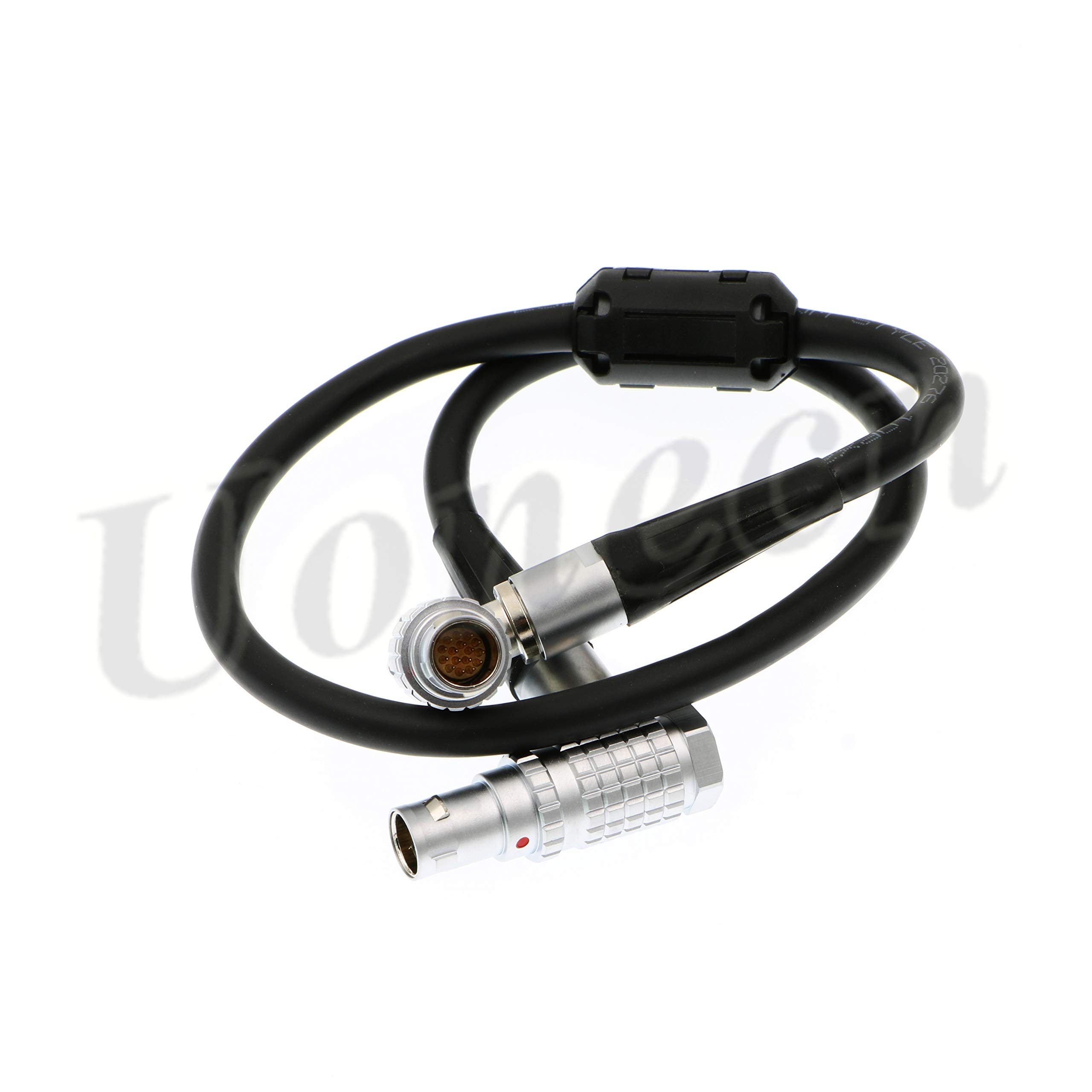 Uonecn LCD EVF Cable FHG.1b 16 pin Male to FHG.1b 16 pin Male Cable for LCD EVF Elbow Red Epic Scarlet Red One by Uonecn