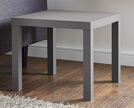 c824ab96246 Image Unavailable. Image not available for. Color  DHP 2095157 Parsons  Modern End Table Grey