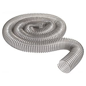 "2-1/2"" x 10' Ultra-Flex Clear Vue PVC Hose - MADE IN USA!"