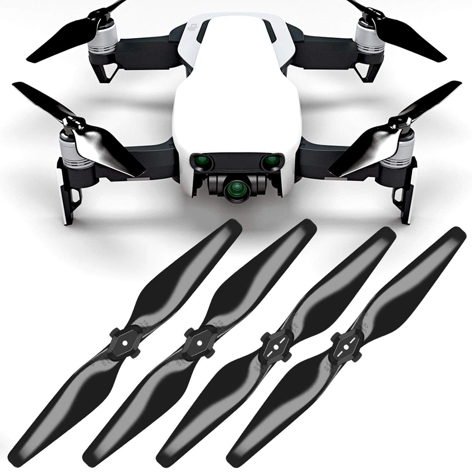 MAS Upgrade Propellers for DJI Mavic AIR in Black - x4 in Set by Master Airscrew (Image #3)