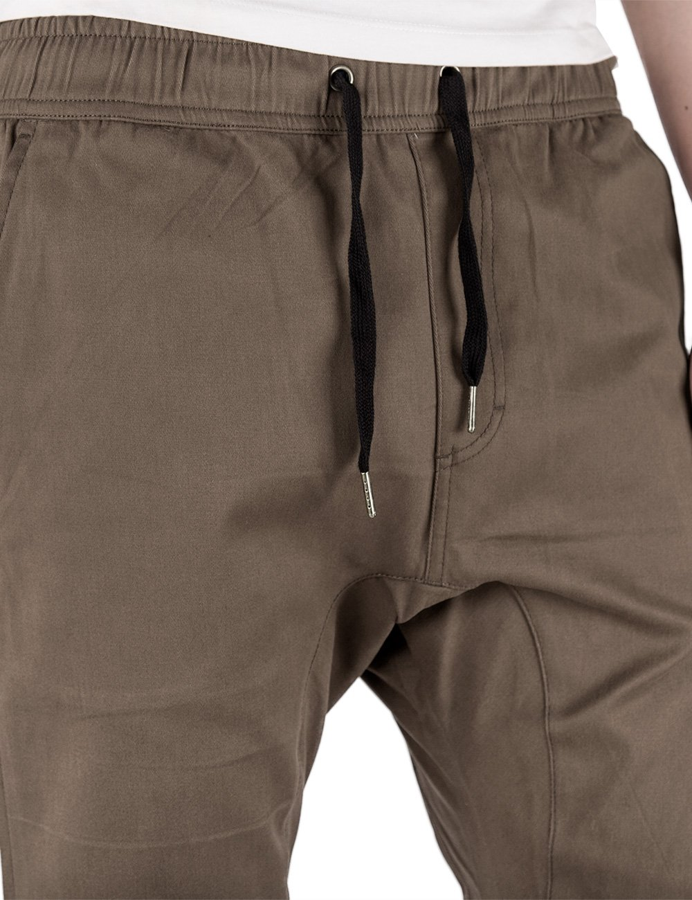 ITALY MORN Men's Chino Jogger Pants XL Coffee by ITALY MORN (Image #5)