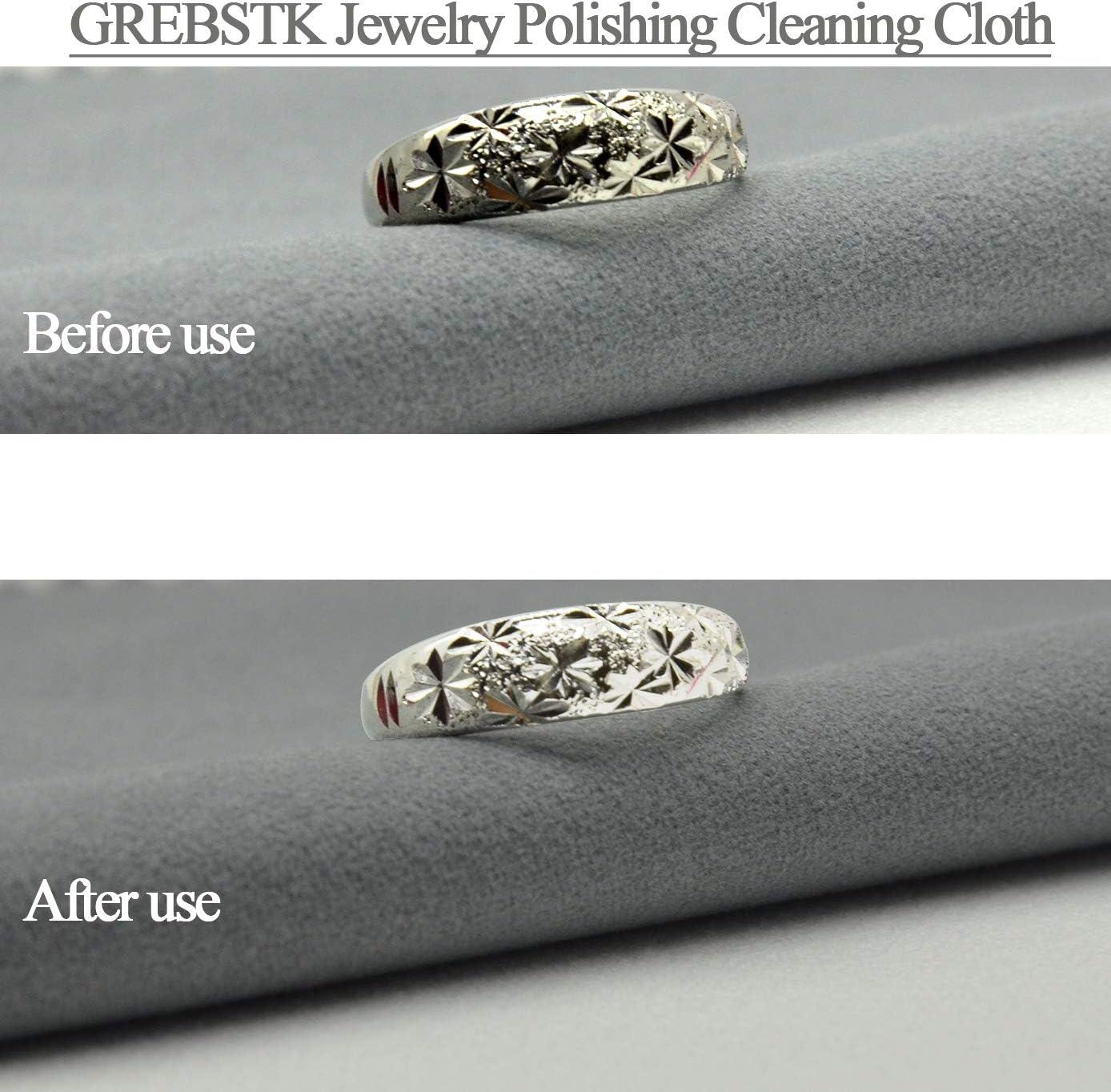 Platinum Tarnish Remover Keep Jewelry Shining Coins and etc 12x 10 Diamand Jewelry Polishing Cleaning Cloth Polishing Cleaner Cloth 100/% Cotton for Gold Watches Silver Precious Stones