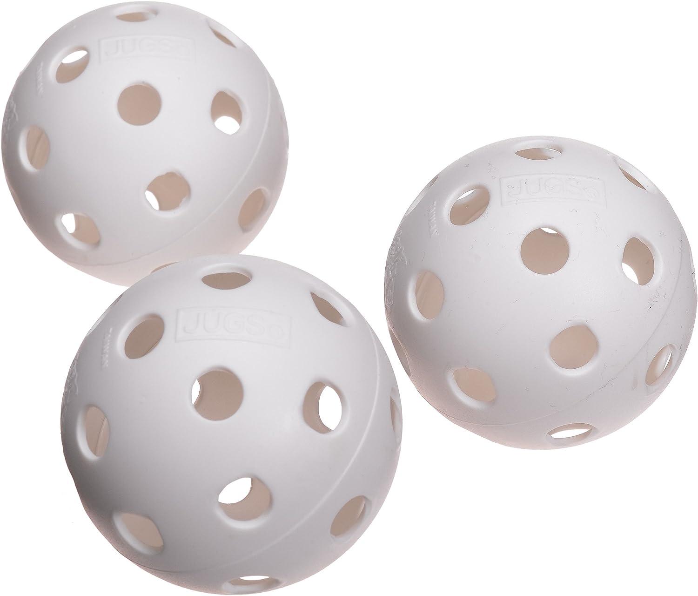 White One Dozen Jugs Poly Baseballs
