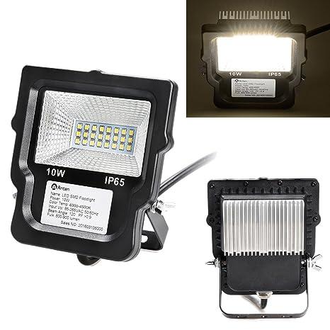 Foco Proyector 10W Luz Día IP65 - Anten Focos Proyectores exterior ...
