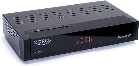 Xoro Hrt 8730 Hevc Dvb T T2 Receiver Hdtv H 265 Kartenloses Irdeto Zugangssystem Für Freenet Tv Mediaplayer Pvr Ready Hdmi Usb 2 0 12v Schwarz Heimkino Tv Video