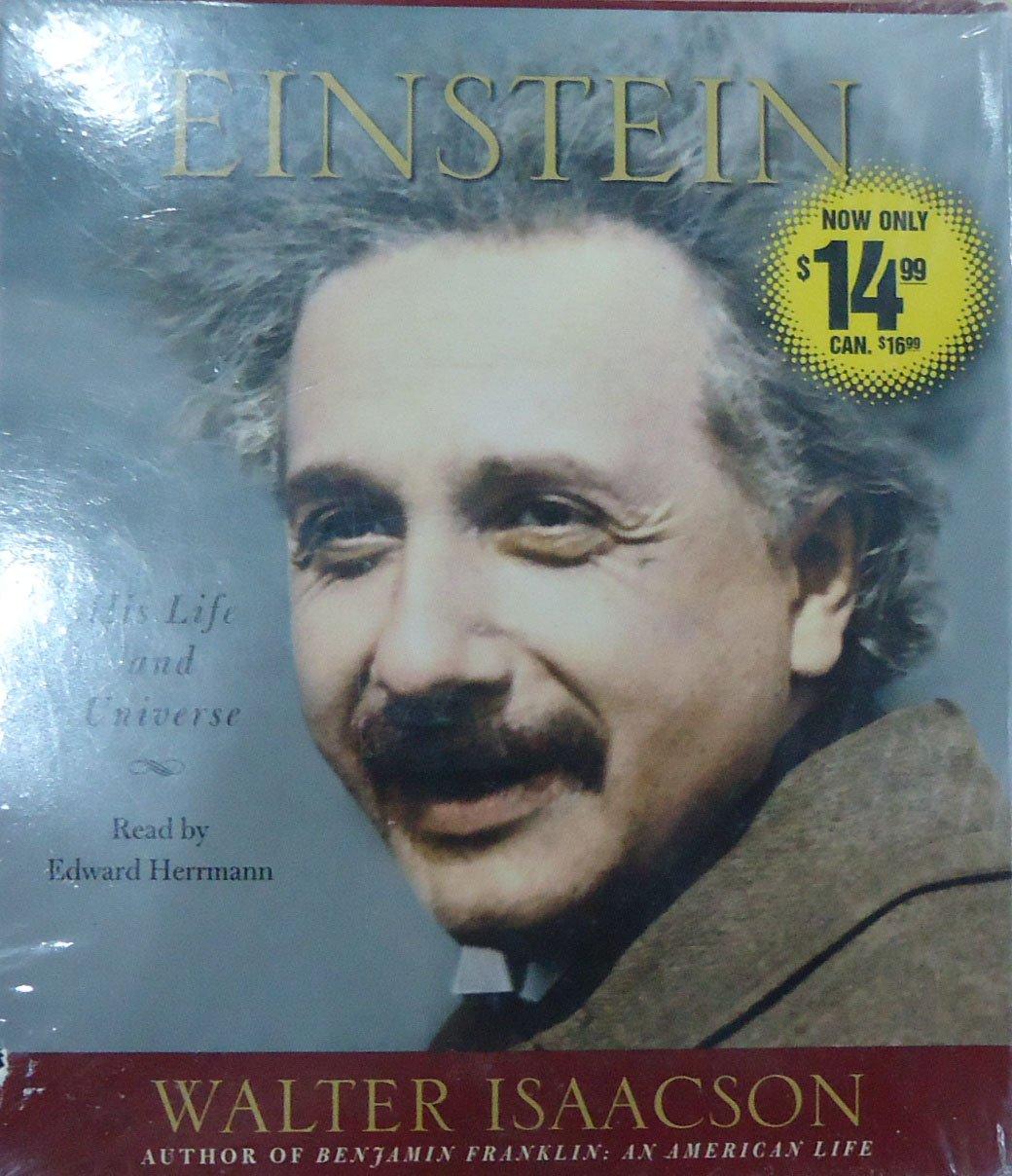 Einstein His Life And Universe Walter Isaacson Edward Herrmann  # Muebles Einstein