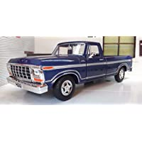 MotorMax 1979 Ford F-150 Custom Lacivert 1/24 Model Araba