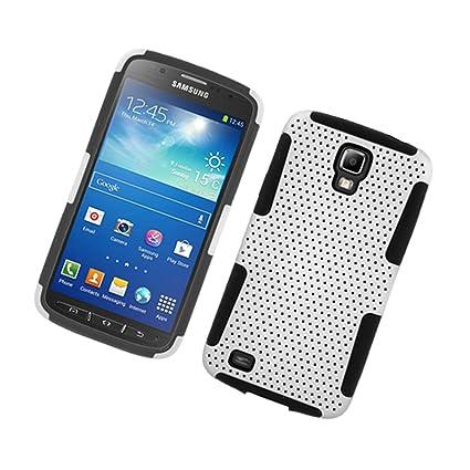 Amazon.com: Galaxy S4 Active Carcasa, Eagle Cell Malla Doble ...