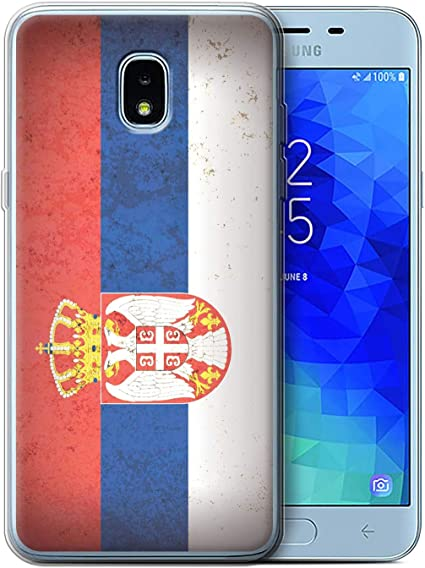 eSwish Carcasa/Funda TPU/Gel para el Samsung Galaxy J3 2018/J337 ...