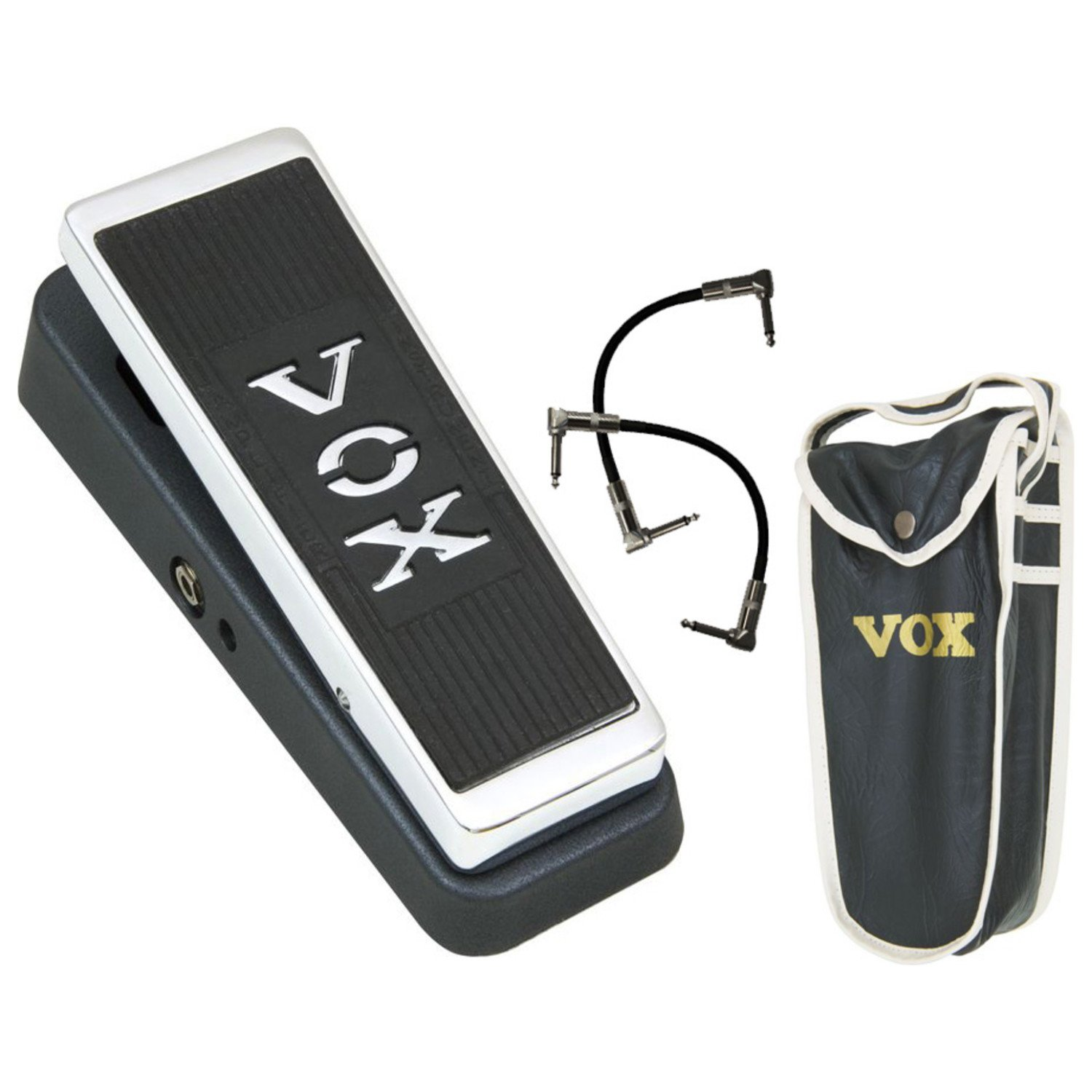 Vox V847 Wah-Wah Pedal w/2 Free 6'' Patch Cables
