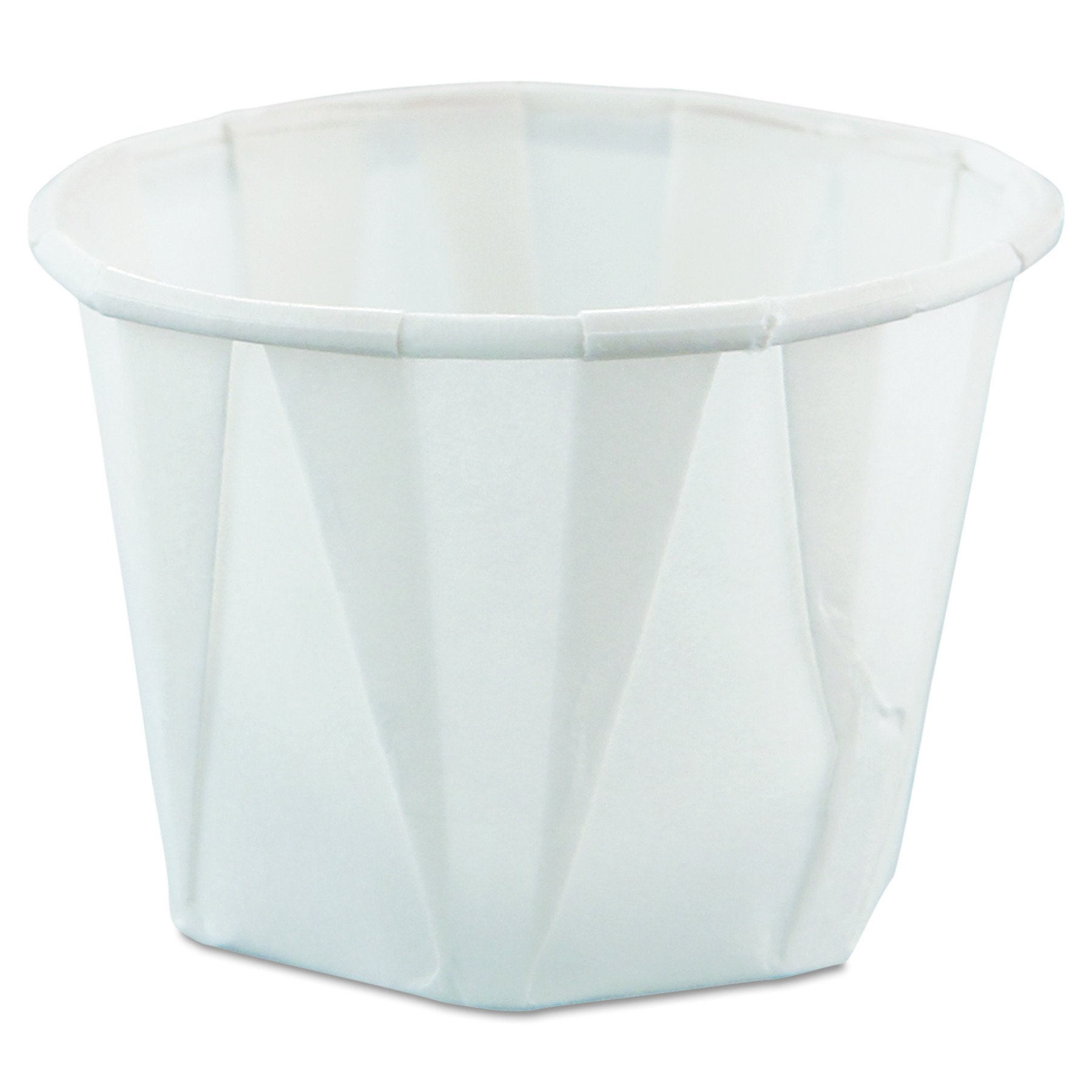 Solo 100-2050 1 oz Treated Paper Portion Cup (Case of 5000) by Solo Foodservice