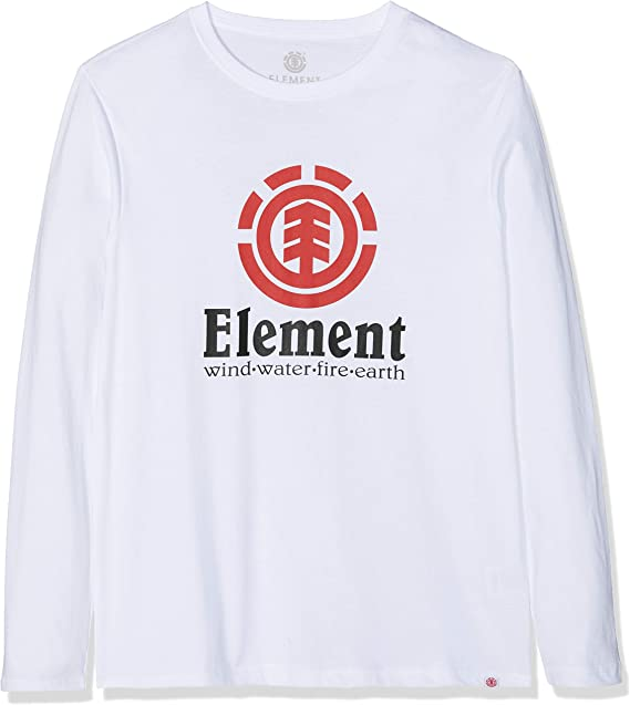 Element Vertical LS Tops de Manga Larga Hombre