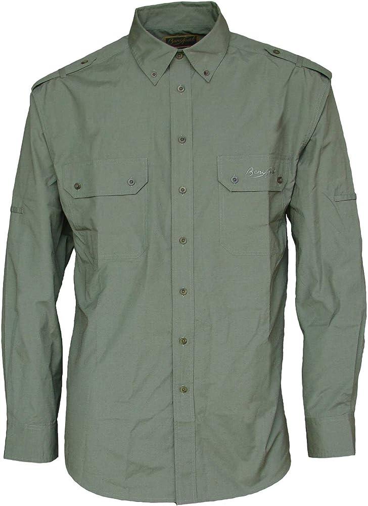 Camisa Solid Green M/L - Talla 2XL: Amazon.es: Ropa y accesorios