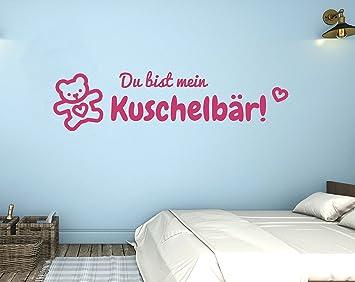tjapalo® p-pkm318 Wandtattoo Schlafzimmer mit namen Wohnzimmer ...