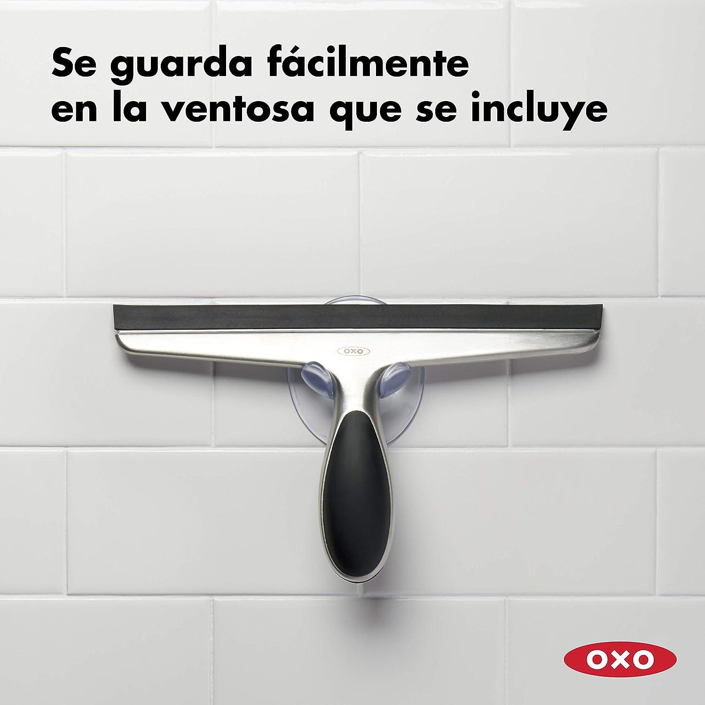 OXO Good Grips Limpiador de Ventanas - Limpiacristales acero inox.: Amazon.es: Hogar
