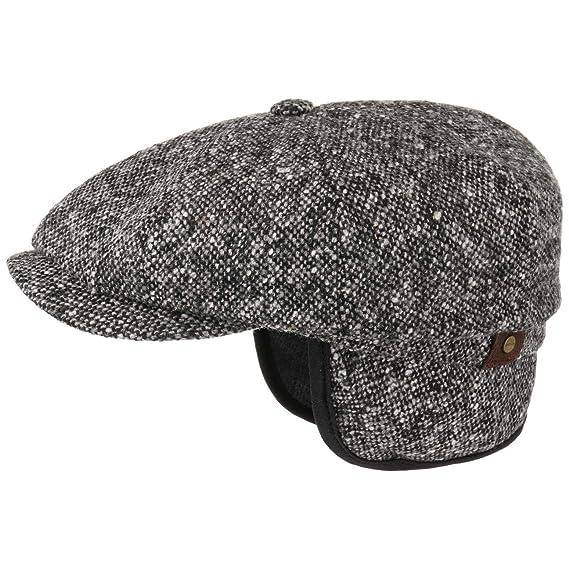 Stetson Hatteras Donegal Earflaps Cap Ivy hat Flat  Amazon.co.uk ... 99b702c1498a