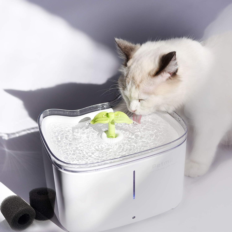Amazon.com: Petmii Fuente para mascotas, 88oz/2.6L ...