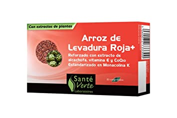 Sante Verte Red Yeast Rice Plus, 600mg x 30 tablets