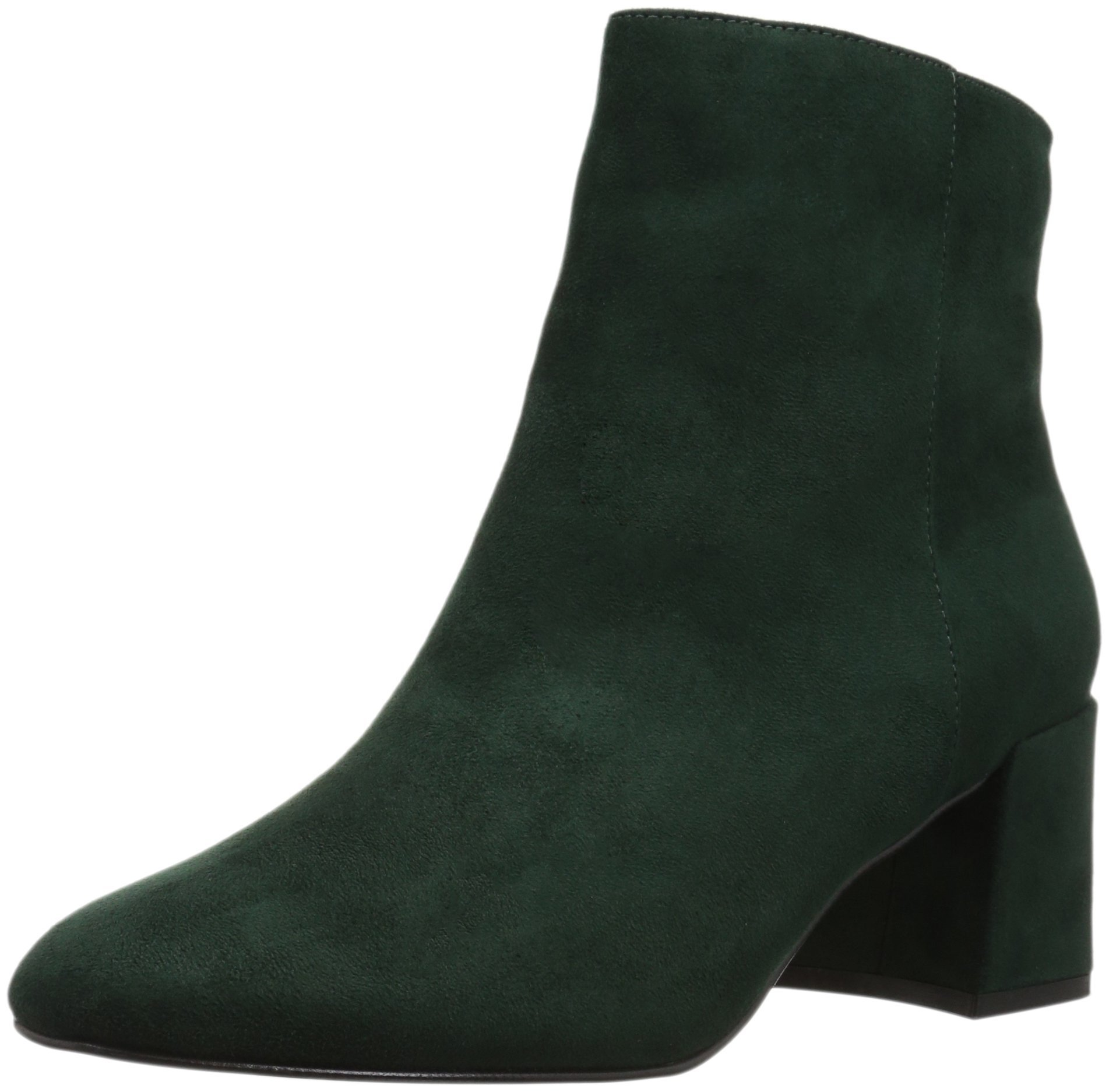 Chinese Laundry Women's Daria Ankle Boot, Forest Green Suede, 7.5 M US