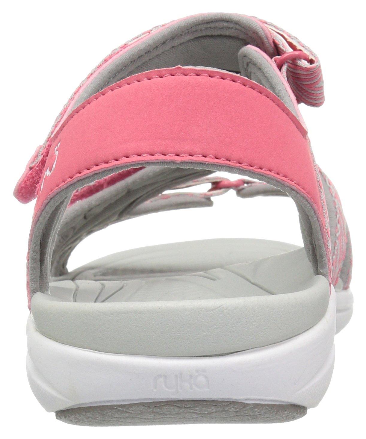 Ryka Women's Savannah Sandal B01KWH5VPY 10 W US|Coral/Grey