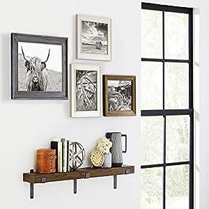 Martin Furniture WS48B Rustic Wall Shelf, 48