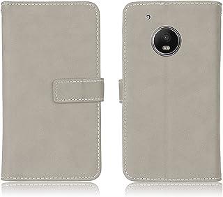 Motorola Moto X 2017 Custodia in Pelle, CaseFirst Custodia Portafoglio Case di [Magnetic Flip] [Funzione di stand] [Slot per schede] Protezione del telefono Cover (Verde)
