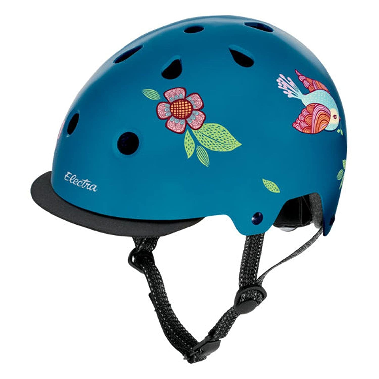 Electra Bicycle Electra Fahrrad Helm Solid Attitude Fashion Serie Magnetverschluss Stylisch, EHelm, Farbe Springtime, Größe M