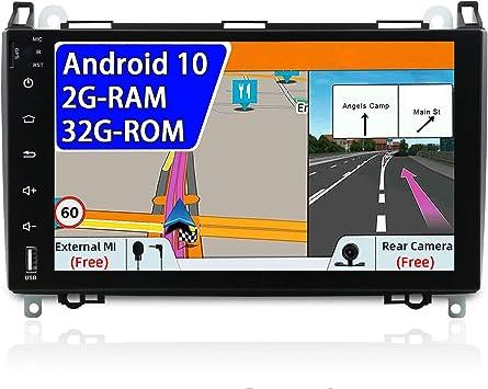 Joyx Android 10 Autoradio Passt Für Benz Viano Sprinter Elektronik