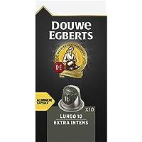Douwe Egberts Koffiecups Lungo Extra Intens (100 Capsules, Geschikt voor Nespresso* Koffiemachines, Intensiteit 10/12…