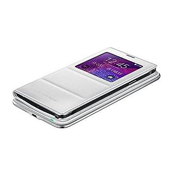 Funda Samsung Kit cargador inalámbrico EP-KN910 Blanca Galaxy Note 4 N910