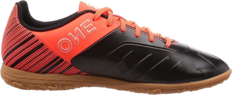 PUMA One 5.4 It, Chaussures de Futsal Homme Black Puma Black Nrgy Red Puma Aged Silver Gum