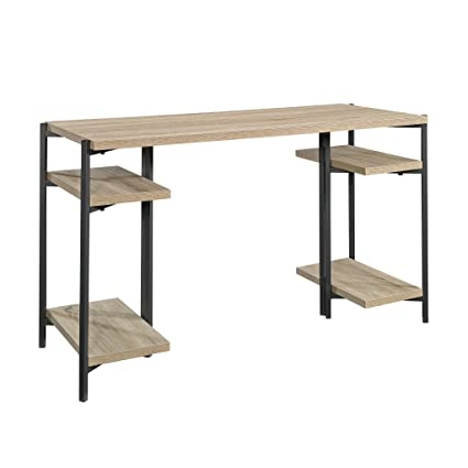 Amazon com: Sauder 422097 Open Desk Oak: Kitchen & Dining