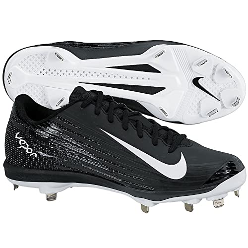 buy popular 24e83 42086 Nike Mens Lunar Vapor Pro Metal Cleats 8 US Black White Anthracite