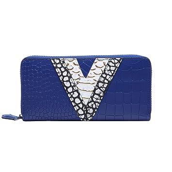 BOYATU Carteras de Cuero para Mujeres Clutch Bag Tarjetero con Cremallera Money Clip: Amazon.es: Equipaje