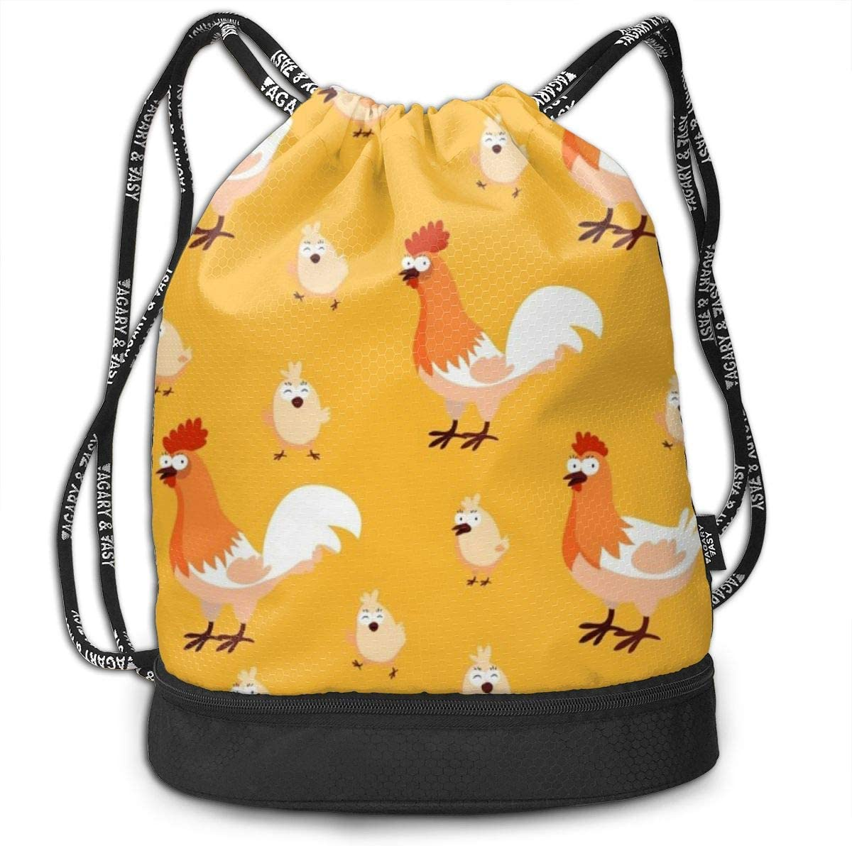 Drawstring Backpack Chicken Bags