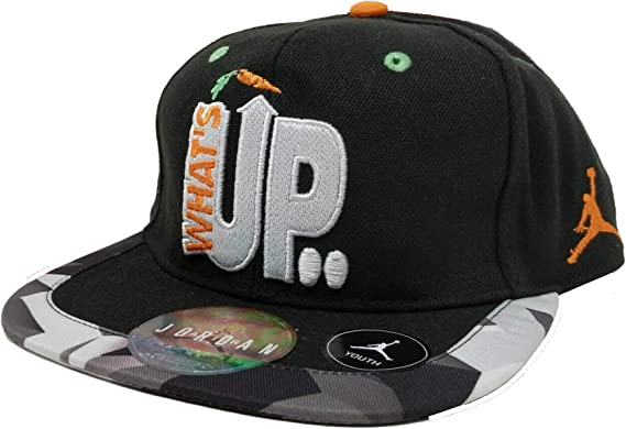 Jordan Youth Retro Space Jam What Up Jock? Gorra Snapback Talla ...