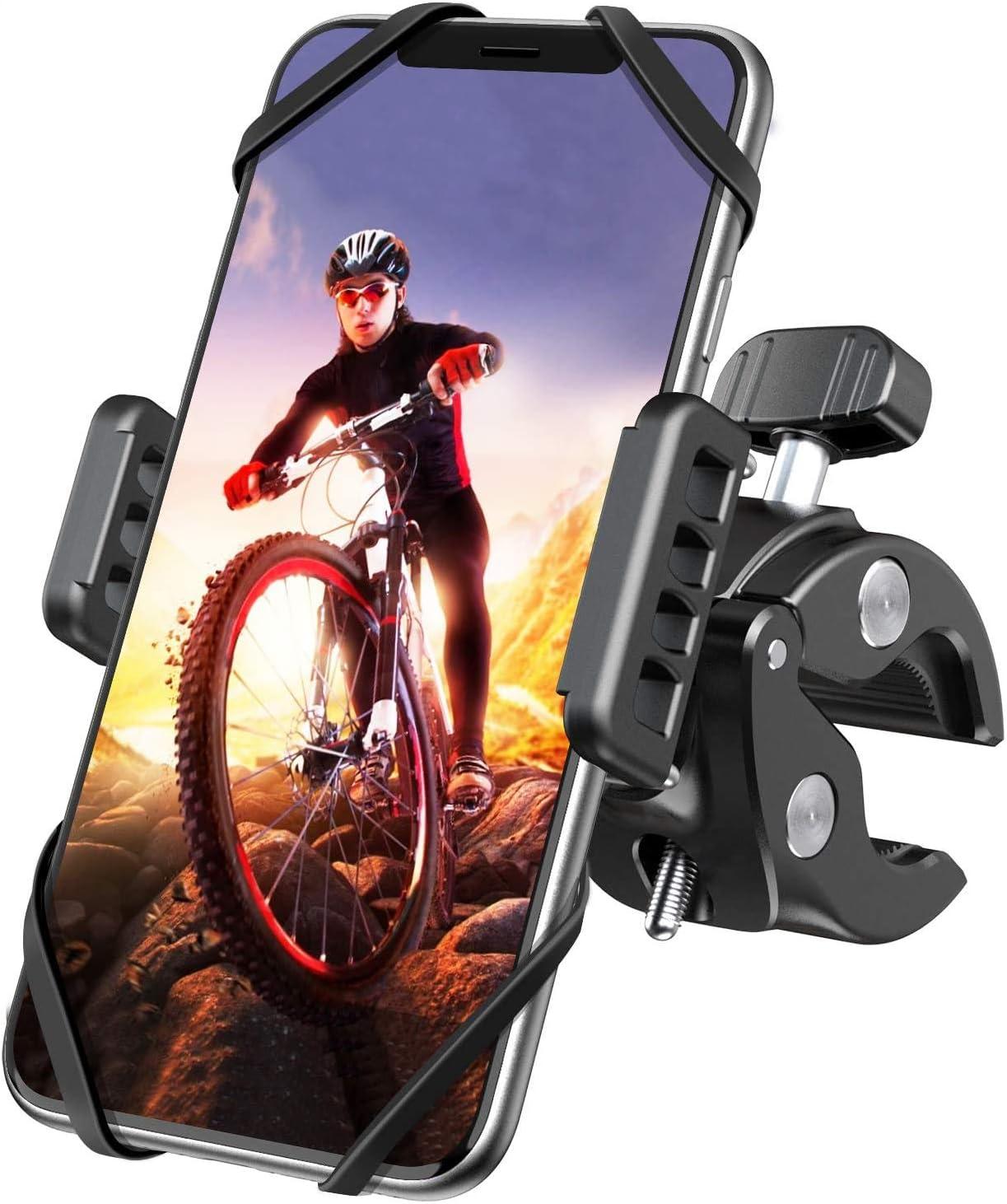 Fahrrad Handyhalterung Desertwest Motorrad Fahrrad Handy Halterung Mit 360 Drehung Für Iphone 12 12pro Se 2020 Samsung S20 S10 Note10 Huawei Xiaomi Lg Usw Handyhalter Für Rennrad Mountainbike Elektronik