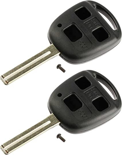 Lexus Key Fob Replacement >> 2 Replacement For Lexus Key Fob Remote Shell Case Cover Fits Es300 Es330 Gs300 Gs400 Gs430 Gx470 Is300 Ls400 Ls430 Lx470 Rx300 Rx330 Rx350 Rx400h