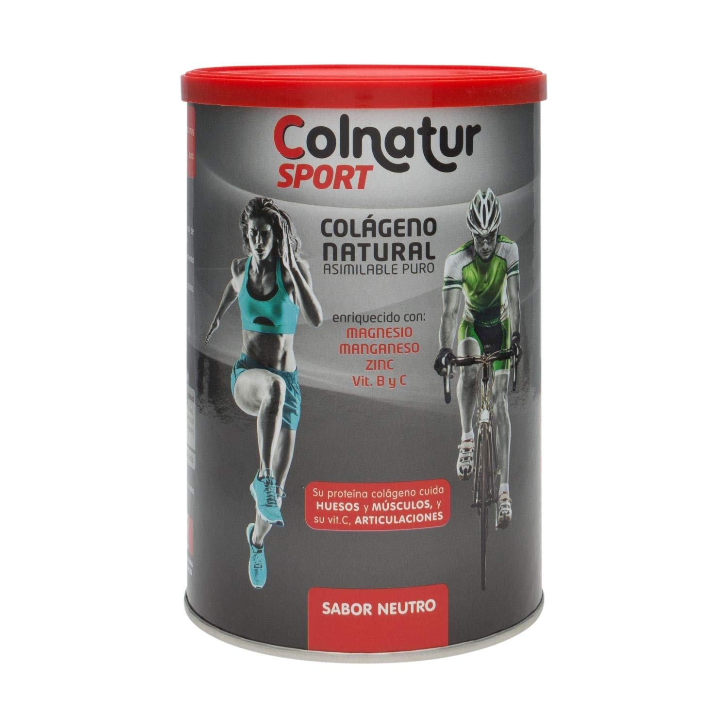 Amazon.com: Colnatur Sport Natural Collagen Neutral Flavor 330gr - Collagen Proteins - Magnesium - Vitamin C - Increase Your Muscle Mass - Care of Joints: ...